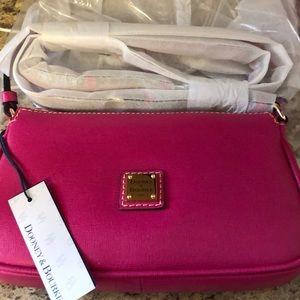 Dooney & Bourke Bags - Dooney & Bourke safari  crossbody (pink)